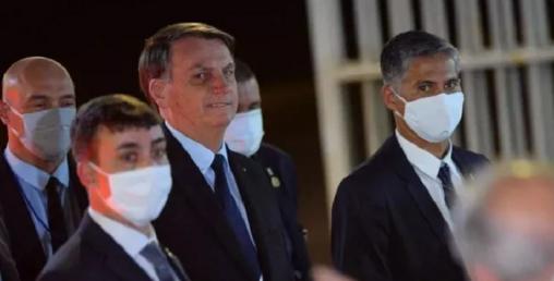 ब्राजिलका राष्ट्रपतिलाई मास्क लगाउन आदेश, नलगाए दैनिक ३८७ अमेरिकी डलर जरीवाना