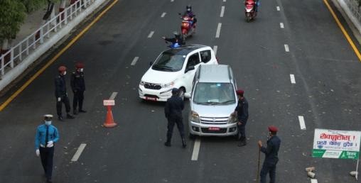 निषेधाज्ञा उल्लंघन गर्ने २२४४ वटा सवारी साधन प्रहरीको नियन्त्रणमा