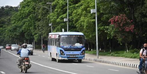 गुड्न थाले सार्वजनिक यातायात