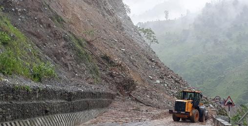 नरायणगढ–मुग्लिन सडक खण्ड अबरुद्ध