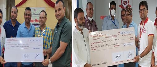 महालक्ष्मी विकास बैंकद्वारा विद्यालयमा शुद्ध खानेपानी व्यवस्थापनमा सहयोग