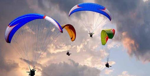 प्याराग्लाइडिङको परीक्षण उडान सफल
