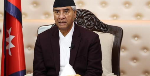 असोज महिनाभित्र एक तिहाइ नेपालीलाई निःशुल्क खोप लगाउँछौँः प्रधानमन्त्री देउवा