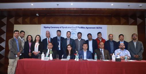 नेपाल बैंकको अगुवाईमा ४ वटा बैंकको ठूलो खोला जलविद्युतमा लगानी
