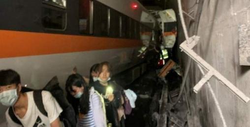 ताइवानमा रेल दुर्घटना हुँदा ४१ को मृत्यु, ७२ जना घाइते
